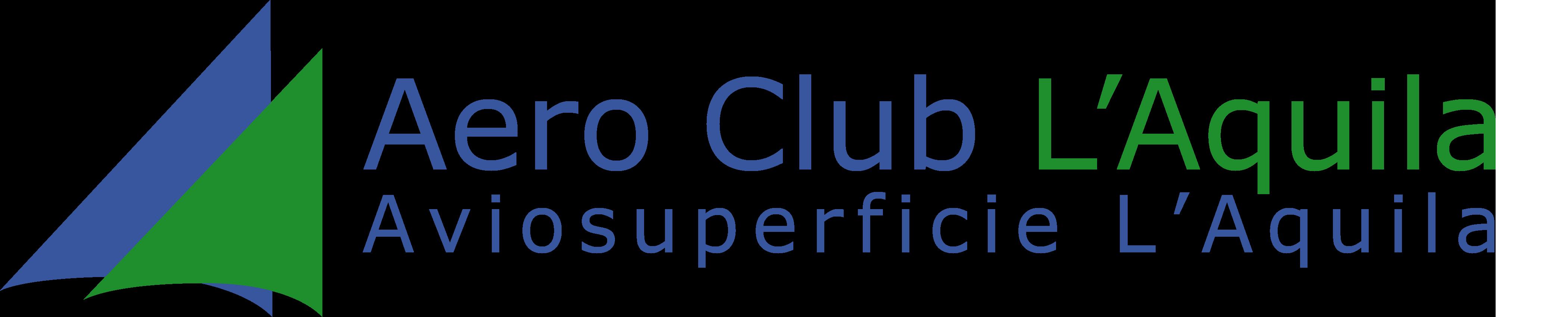 Logo nuovo Aero Club L'Aquila