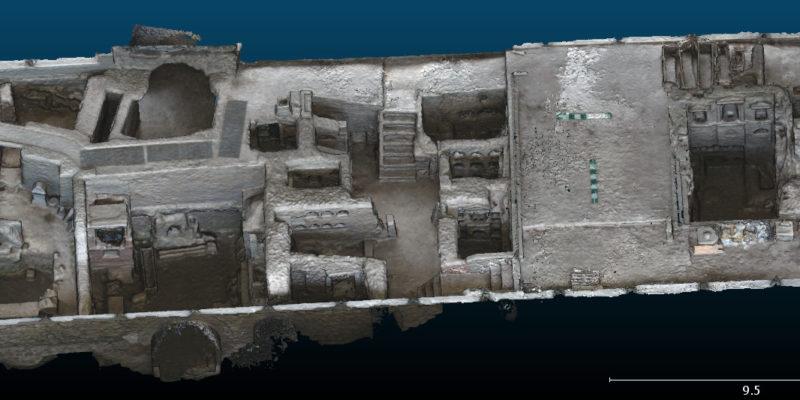 Rilievo Sepolcreto Ostiense: Fotogrammetria da UAS